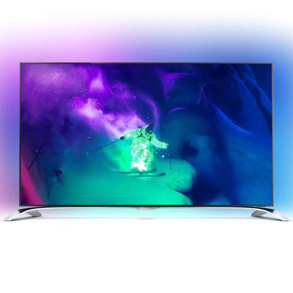 PHILIPS 55PUS9109/12 55'' 139 CM RAZOR SLİM 4K 3D SMART LED TV,DAHİLİ HD UYDU