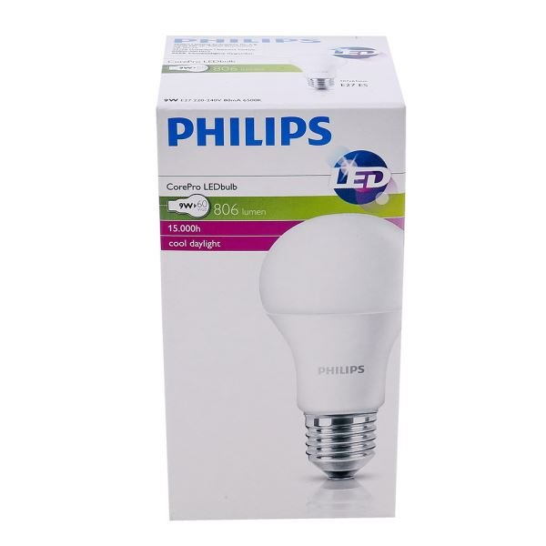 PHILIPS LED CorePro 9-60W E27 BEYAZ