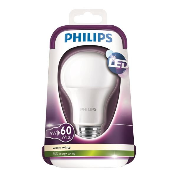 PHILIPS LED 60W E27 SARI