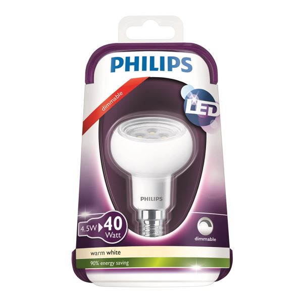 PHILIPS LED 40W E14 DIM SARI
