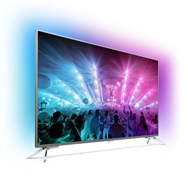 PHILIPS 55PUS7101  55'' 139 CM  4K UHD Android LED TV,DAHİLİ UYDU ALICILI