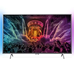 "PHILIPS 43PUS6401  43"" 108 CM  4K UHD Android Slim LED TV,DAHİLİ UYDU ALICILI"