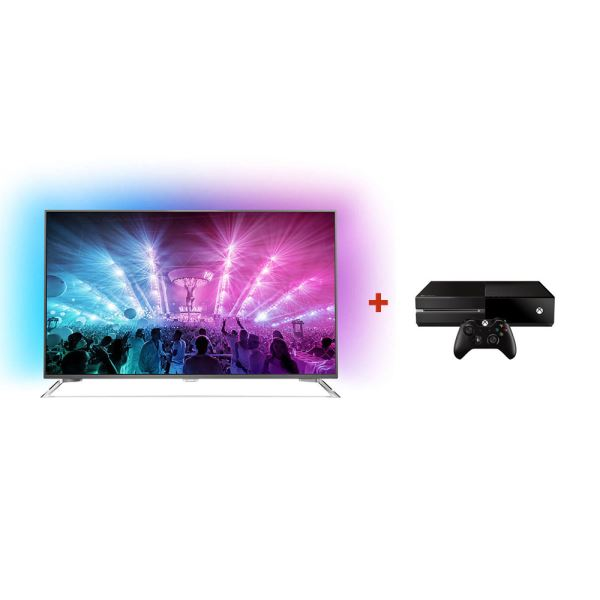 PHILIPS 49PUS7101 UHD LED TV + MICROSOFT XBOX ONE KONSOL BUNDLE KAMPANYASI