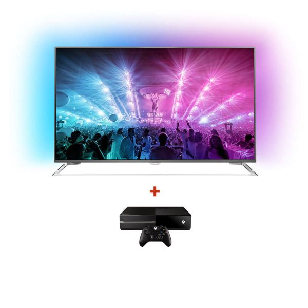 PHILIPS 55PUS7101 UHD LED TV + MICROSOFT XBOX ONE KONSOL BUNDLE KAMPANYASI