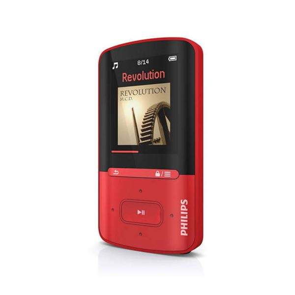 PHILIPS GOGEAR VİBE RADYOLU MP4 PLAYER 4GB (KIRMIZI)