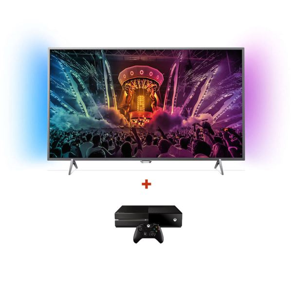 PHILIPS 49PUS6401 UHD LED TV + MICROSOFT XBOX ONE KONSOL BUNDLE KAMPANYASI