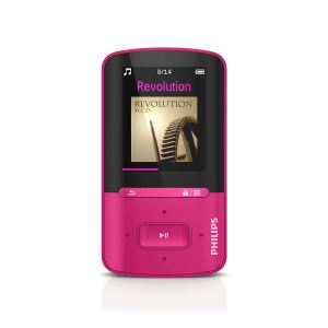 PHILIPS GOGEAR VİBE MP4 PLAYER 4GB (FUŞYA)