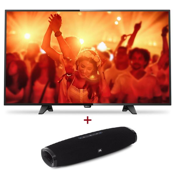 PHILIPS 49PFS4131/12 FHD ULTRA SLİM LED TV+ JBL BOOST TV Kompakt Hoparlör Bundle