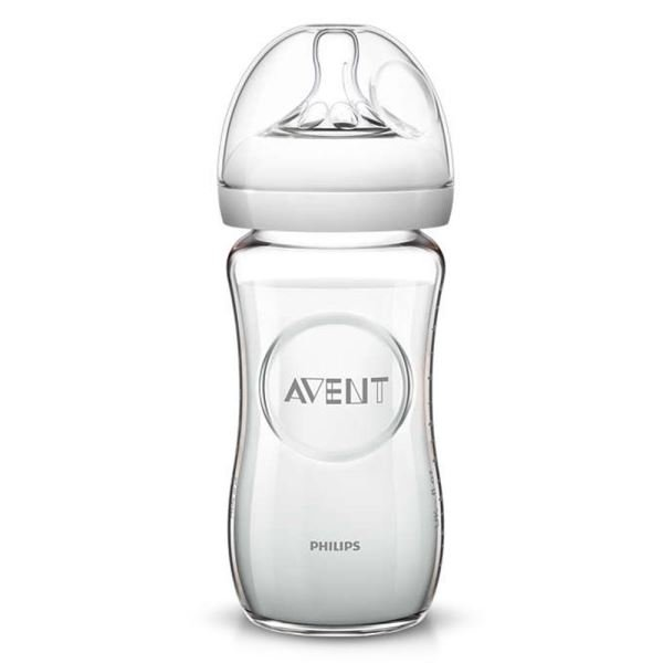 PHILIPS AVENT SCF673/17 NATURAL CAM BİBERON 240 ML. TEKLİ