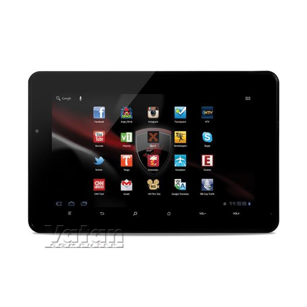Business Tab 7 ARM CORTEX A10 1.4 GHZ-1GB DDR3-8GB DISK-7''-ANDROİD 4