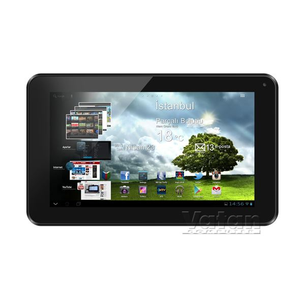 Zoom Tab 7 ARM CORTEX A20 1.6 GHZ-1GB DDR3-8GB DISK-7''-ANDROİD 4.2 JB.