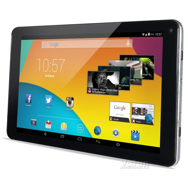 PIRANHA EMPIRE TAB 9.0  A23 DUAL CORE 1.5 GHZ-1GB DDR3-8GB NAND DISK-9''-AND.4.4