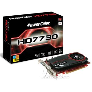 Powercolor HD7730 GDDR3 2GB 128Bit AMD Radeon DX11.1 Ekran Kartı
