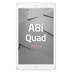 REEDER A8i QUAD ROSEY INTEL ATOM Z3735F 1.83GHZ-1GB-16GB DİSK-8''-CAM-BT-AND.5