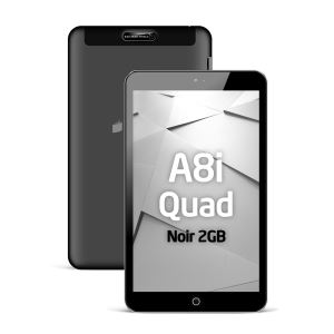 REEDER A8i QUAD NOIR INTEL ATOM Z3735F 1.83GHZ-2GB-16GB DİSK-8''-CAM-BT-AND.5