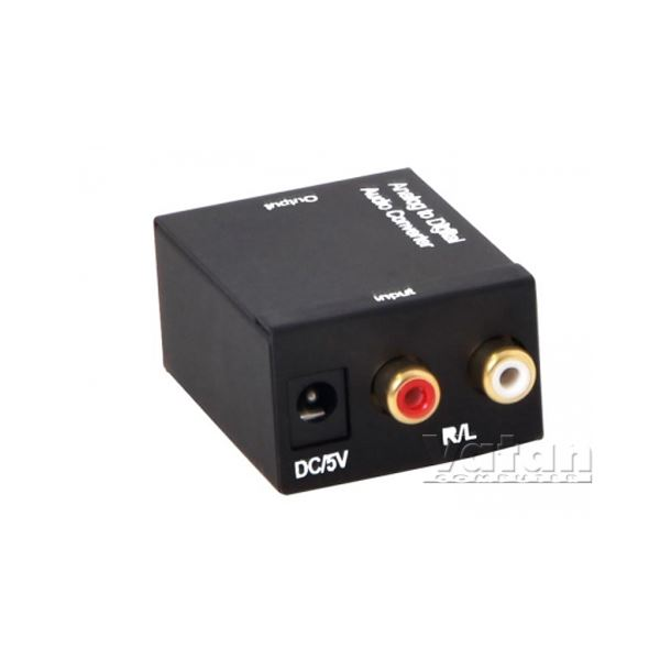 SL-RC010 RCA TO OPTİK ÇEVİRİCİ