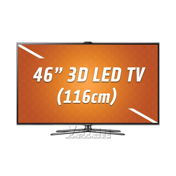 SAMSUNG UE46ES7000 3D LED Smart Full HD 116cm TV, 800Hz, HDMI, USB, One Design