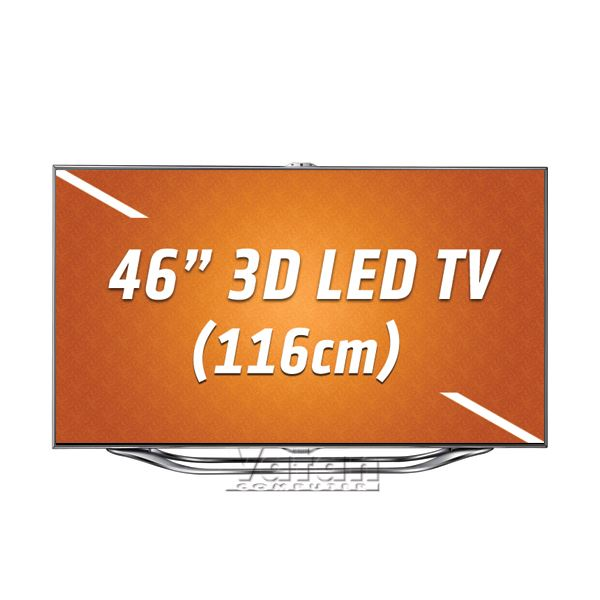 SAMSUNG UE46ES8000 3DLED Smart Full HD 116cm TV, 800Hz,HDMI,USB,WiFi, One Design