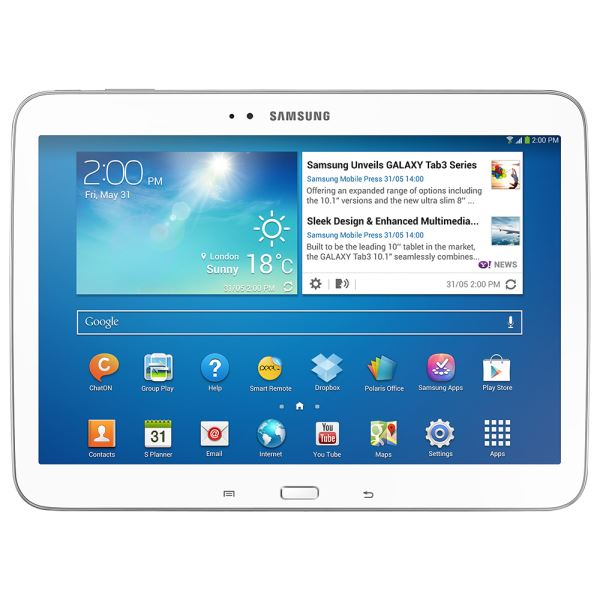 P5210-W GALAXY TAB3 NAT ATOM Z2560 1.6GHZ-1GB-16GB DISK-10.1''-ANDROID 4.2-510GR