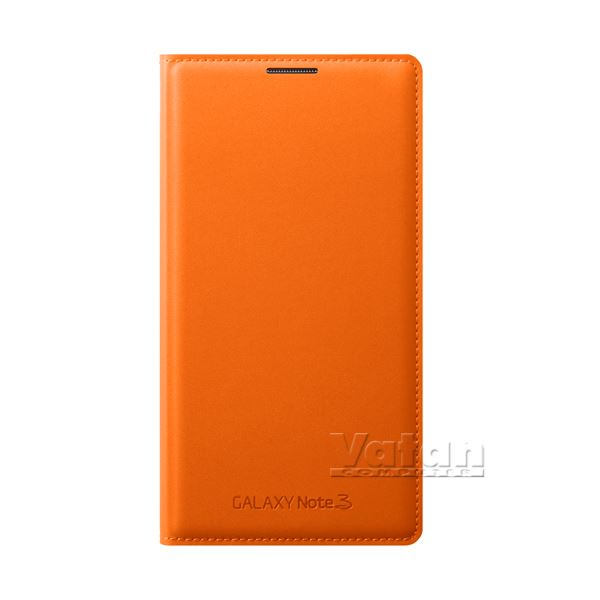 EF-WN900BOEGWW LEATHER COVER GALAXY NOTE3 KILIFI- (TURUNCU)