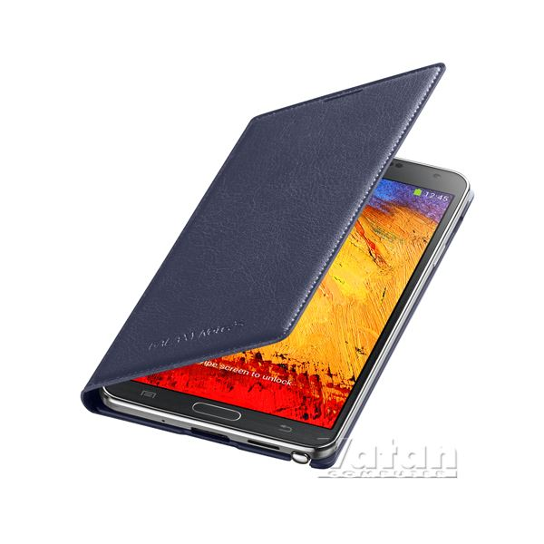 EF-WN900BVEGWW LEATHER COVER GALAXY NOTE3 KILIFI- (MOR)