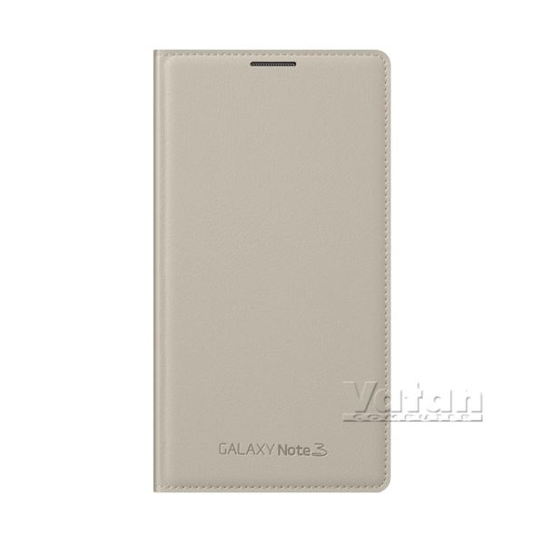 EF-WN900BUEGWW LEATHER COVER GALAXY NOTE3 KILIFI- (BEJ)