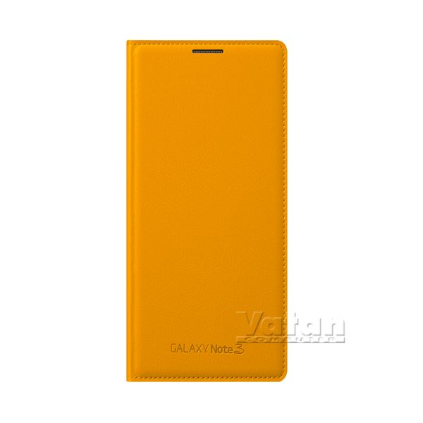 EF-WN900BYEGWW LEATHER COVER GALAXY NOTE3 KILIFI- (SARI)