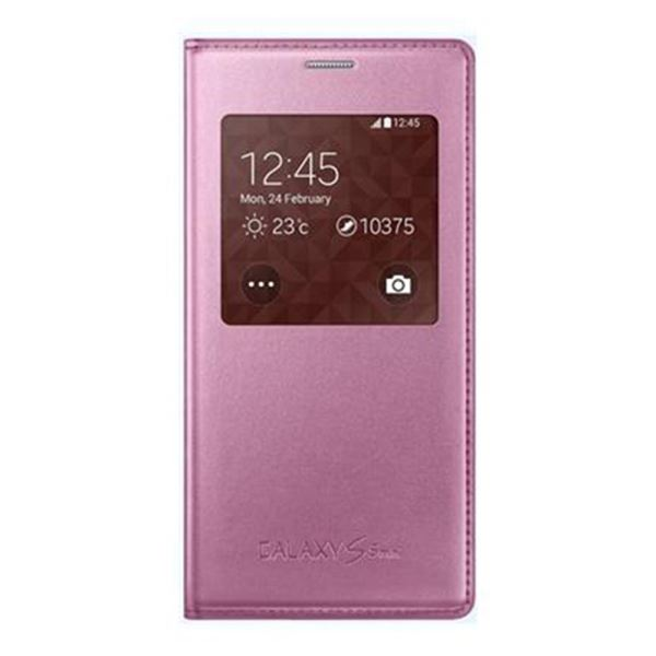 EF-CG800BPEGWW S-VİEW COVER GALAXY S5 MİNİ KILIF- (PEMBE)