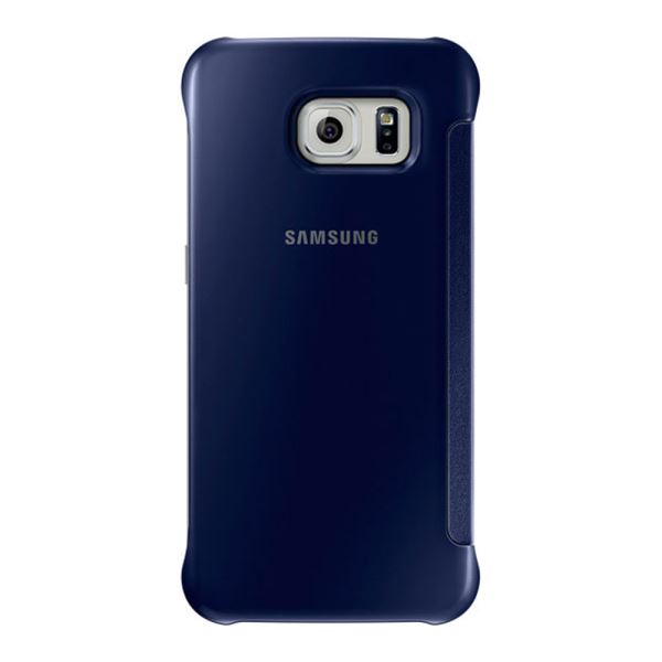 SAMSUNG GALAXY S6 CLEAR VİEW COVER SİYAH