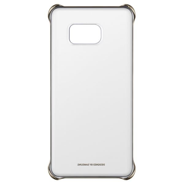 EF-QN920CFEGWW CLEAR COVER GALAXY NOTE5 ŞEFFAF ARKA KAPAK- (ALTIN)