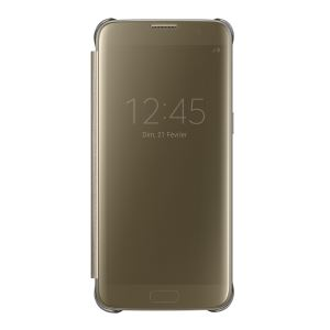 EF-ZG935CFEGWW GALAXY S7 EDGE CLEAR VİEW FONKSİYONEL KILIF- (GOLD)