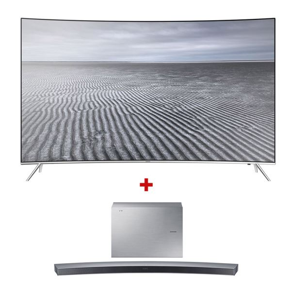 SAMSUNG 55KS8500 CURVED SUHD SMART LED TV + HW-J6001 SoundBar Bundle Kampanyası