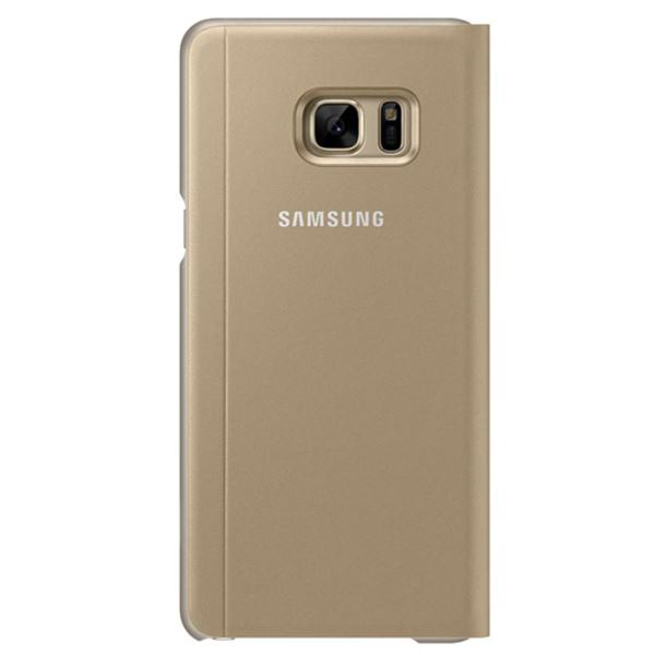 EF-CN930PFEGWW GALAXY NOTE7 S-VİEW STANDİNG FONKSİYONEL KILIF- (GOLD)
