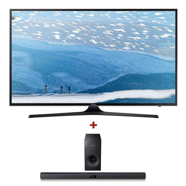 SAMSUNG UE40KU7000 UHD SMART LED TV+SAMSUNG HW-J355 SoundBar Bundle Kampanyası