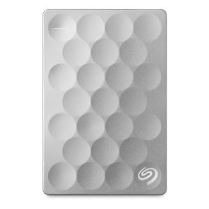 "Seagate 2,5"" 1TB Backup Plus Ultra Slim USB3.0 Metalik Gri Taşınabilir Disk"