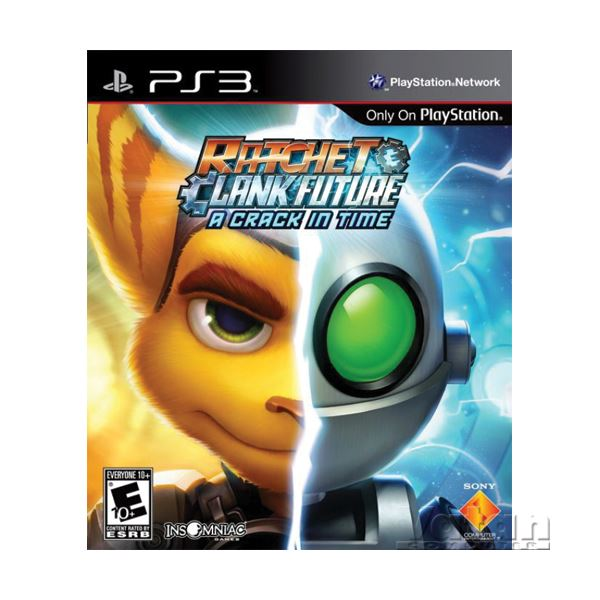 SONY PS3 Game:Ratchet&Clank:A CrackinTime SE