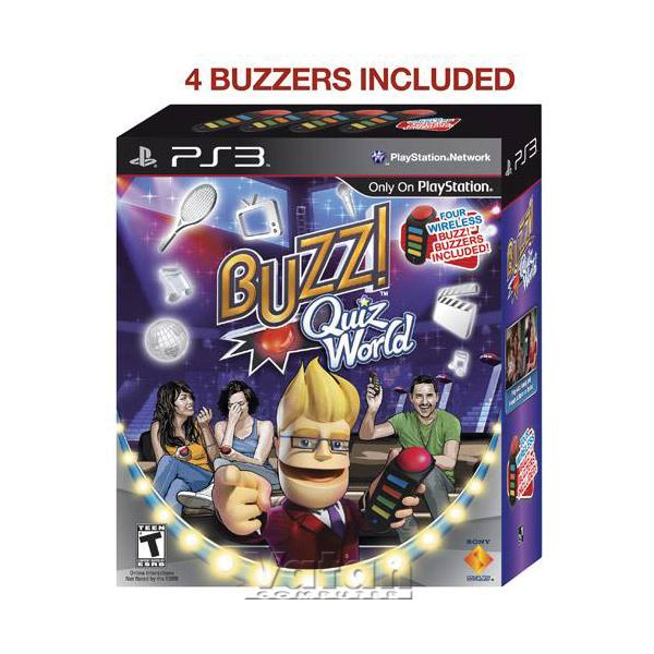 SONY PS 3 Oyun : Buzz TUMQ / Wireless Buzzers / EXP