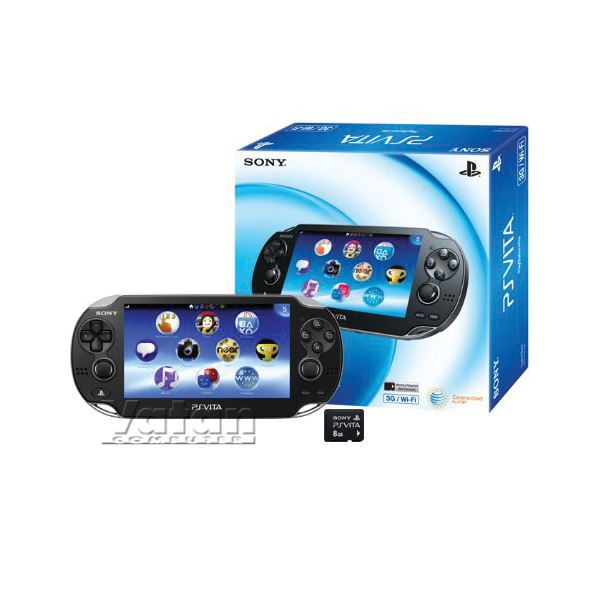 SONY PLAYSTATION VITA WIFI KONSOL + PS VITA 4 GB SD CARD