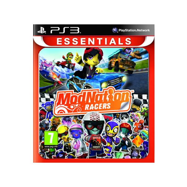 SONY PS3 Oyun: Modnation Racers/ESN/EXP
