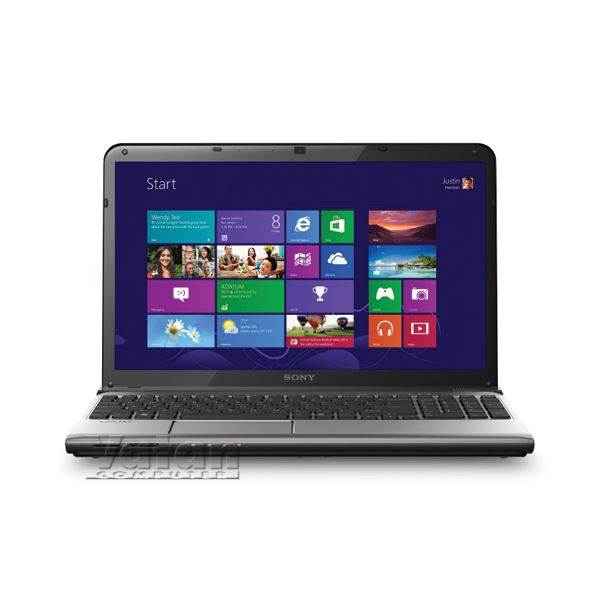 SVE1513V1E NOTEBOOK CORE İ5-2.60GHZ-6GB-750-15.5-2GB-WIN8 TASINABİLİR BİLGİSAYAR