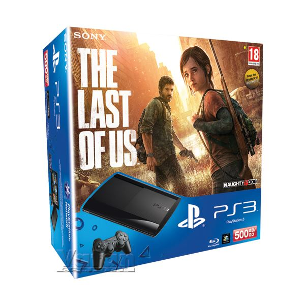 SONY PS3 500GB + The Last of US