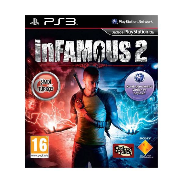SONY PS3 Oyun: inFamous 2 PLA / EXP