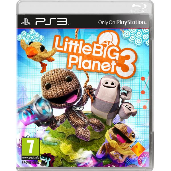 SONY PS3 Oyun: LİTTLE BİG PLANET
