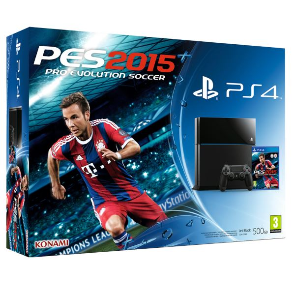 SONY PES 2015 / PS4 500GB A / TUR OYUN KONSOLU