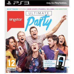 SONY PS3 Oyun: SingStar Ultimate Party (PS3)/EAS