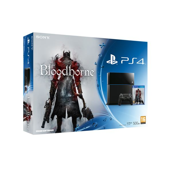 SONY Bloodborne / PS4 500GB B / EAS OYUN KONSOLU