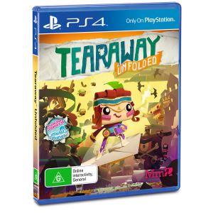 Sony PS4 Oyun : Tearaway Unfolded