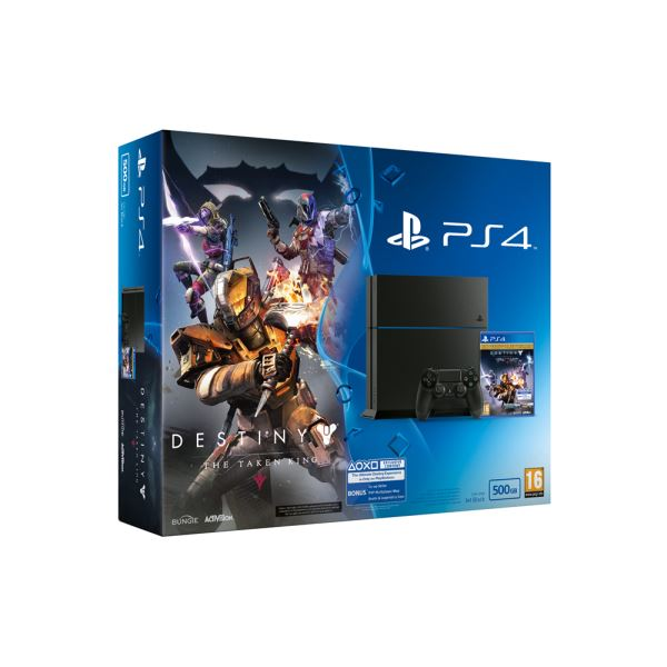 SONY Destiny The Taken King / PS4 500GB  / TUR OYUN KONSOLU