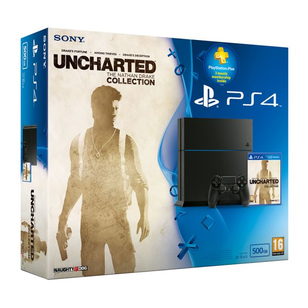 SONY Uncharted The Nathan Drake Collection / PS4 500GB / TUR OYUN KONSOLU