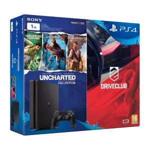 SONY Drive Club + Uncharted Collection / PS4 1 TB SLIM OYUN KONSOLU